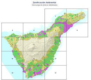 Senderismo en tenerife mapas for Importancia economica ecologica y ambiental de los viveros forestales