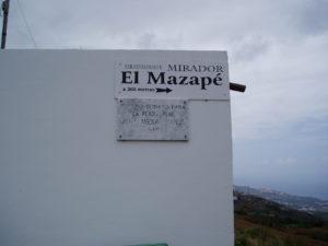 Barranco Ruiz (Mirador El Mazape)