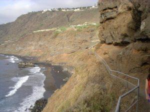 Playa Los Patos (desde el sendero de acceso)