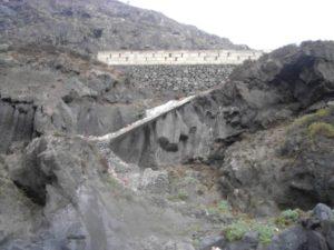 Antigua escalera acceso a Playa del Ancón