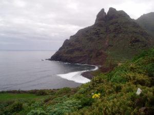 Mirador de la Punta (al fondo Roque Dos Hermanos)