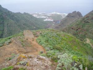 Panorámica de la Punta cerca de Chinamada