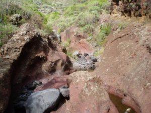 Barranco de Anosma - Cauce Rocoso