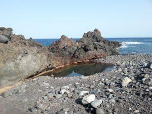 Charco en Playa de Anosma