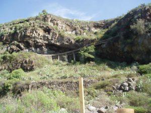 Barranco de Badajoz - Canalización del agua