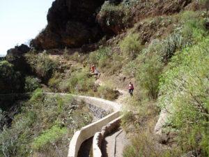 Barranco del Infierno - Cruce con tajea
