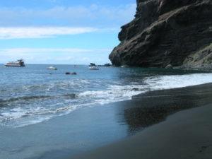 Barcos en Playa de Masca