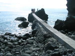 Muelle en Playa de Masca
