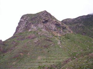 Roque en Las Palmas de Anaga