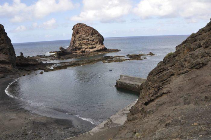 Roque Bermejo y su muelle