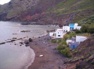 Playa Casas Blancas en Roque Bermejo