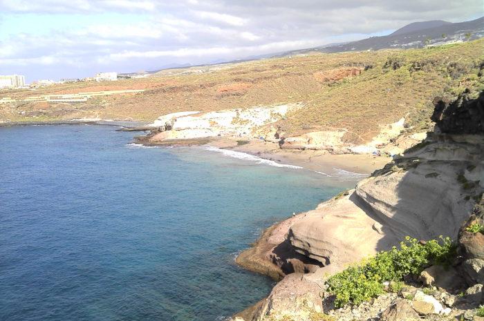 Playa Diego Hernández en la Caleta