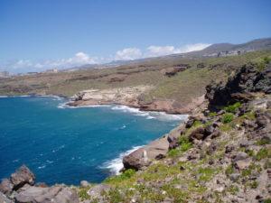 Playa Diego Hernández (vista desde litoral)
