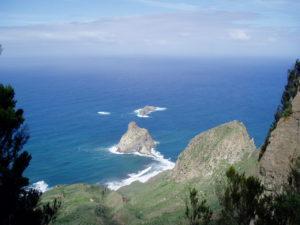 Roques de Anaga (vista superior)