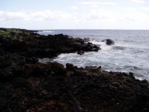 Sendero litoral en Malpaís de Güimar