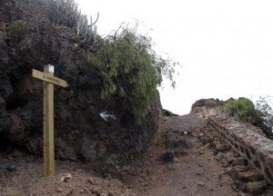 Sendero Antequera (giro izquierda)