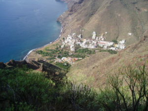 Panorámica de Igueste de San Andrés