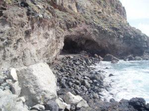 Cueva en Playa de Antequera