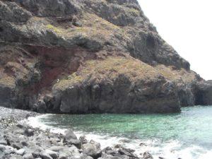 Inicio del camino hacia la Playa de la Garañona
