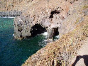 Camino hacia la Playa de la Garañona (Sauzal)