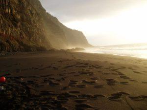 Arenal en Playa la Garañona