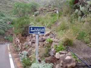 Inicio Sendero - Valle Luis