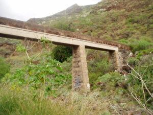 Barranco Valle Luis - Canalización de agua