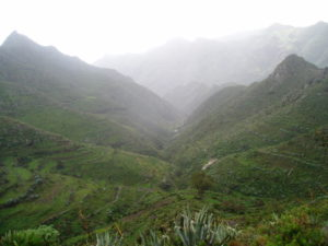 Barranco Valle Luis - Vista superior