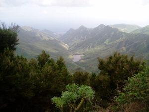 Presa de Tahodio - Vista desde Jardina