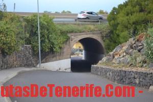 Bajada al Ancón - Túnel (bajo Mercadona)