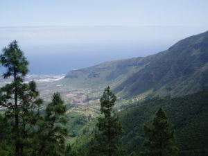 Panorámica del Valle de Güimar (abajo Mirador de Don Martín)