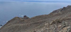 Sendero hasta el Faro de Anaga