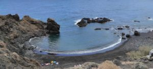 Playa de Casas Blancas en Roque Bermejo
